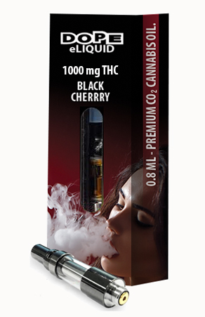 Dope-eLiquid-1000mg-Black-Cherry-cartridge