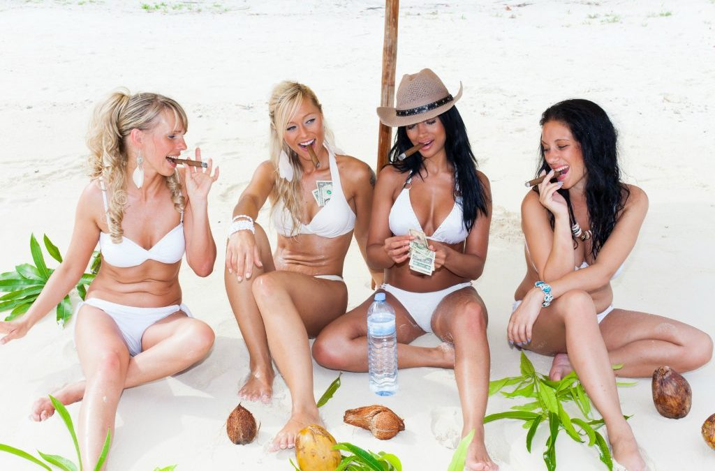 What Exactly is Entourage Effect, Beautiful Woman using Marijuana, Sexy Woman and Cannabis